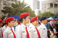 Shenzhen police open day activities Stock Photography