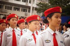 Shenzhen police open day activities Royalty Free Stock Photos