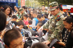 Shenzhen police open day activities Royalty Free Stock Images