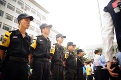 Shenzhen police open day activities Stock Photos