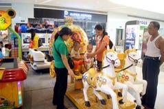 Shenzhen, porcelana: brinquedos e campo de jogos eletrônicos Imagem de Stock Royalty Free