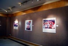 Shenzhen, porcelana: exposição da caligrafia e da fotografia Fotografia de Stock Royalty Free