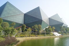 Shenzhen, porcelana: longgang stadium fotografia stock