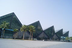 Shenzhen, porcelana: longgang stadium obrazy royalty free
