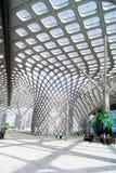 Shenzhen porcelana: podpalany Shenzhen centrum sportowe Obraz Stock