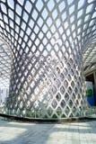 Shenzhen porcelana: podpalany Shenzhen centrum sportowe Zdjęcie Royalty Free