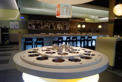 Shenzhen, porcelana: restaurante Fotografia de Stock