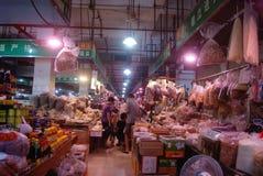 Shenzhen, porcelana: rolnika rynek Obrazy Royalty Free