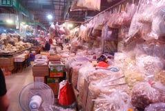 Shenzhen, porcelana: rolnika rynek Zdjęcia Royalty Free