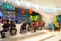 Shenzhen, porcellana: il campo da gioco per bambini Fotografie Stock Libere da Diritti