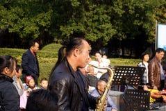 Shenzhen porslin: ackompanjemang arkivfoto