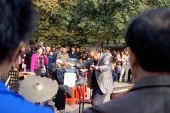 Shenzhen porslin: ackompanjemang royaltyfri foto