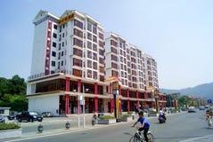 Shenzhen porslin: baoan fuyongphoenix aveny Arkivbilder