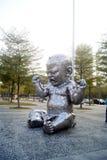 Shenzhen porslin: landskap för medborgarcentrumplazaskulptur Royaltyfria Foton