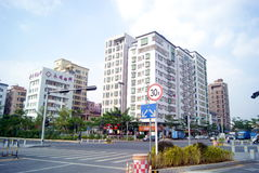Shenzhen porslin: phoenix aveny, fuyong Royaltyfri Fotografi