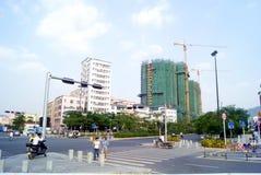 Shenzhen porslin: phoenix aveny, fuyong Arkivfoton