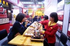 Shenzhen porslin: teexpo royaltyfria bilder