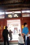 Shenzhen, Porzellan: neue Häuser des Hakkakran-Sees Lizenzfreie Stockfotos