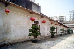 Shenzhen, Porzellan: neue Häuser des Hakkakran-Sees Stockbild