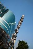 Shenzhen promenade Union Square Building Stock Image