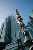 Shenzhen promenade Union Square Building Stock Photos
