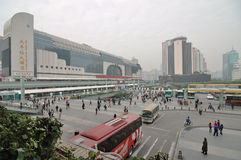 Shenzhen railway station Royalty Free Stock Photo