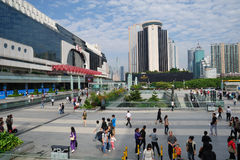 Shenzhen railway station Stock Photos