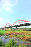 Shenzhen rainbow bridge Stock Photos