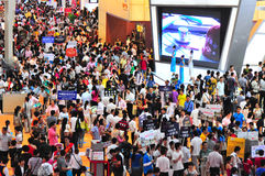 Shenzhen real estate trade fair Stock Photo