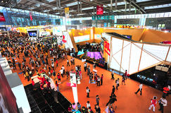 Shenzhen real estate trade fair royalty free stock image