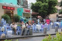 Shenzhen roadside restaurant Stock Image