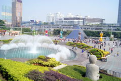 Shenzhen's famous attractions: window of the world Royalty Free Stock Images