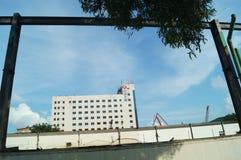 Shenzhen Shekou byggnadslandskap Royaltyfria Foton