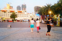 Shenzhen Shekou Sea World Scenic Area Stock Images