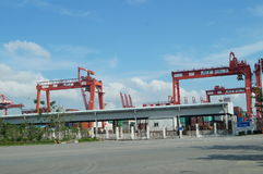 Shenzhen Shekou wharf SCT Stock Photos