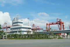 Shenzhen Shekou wharf SCT Stock Photo