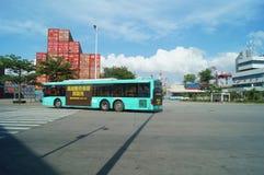 Shenzhen Shekou wharf SCT Royalty Free Stock Photo