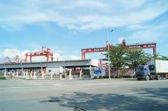 Shenzhen Shekou wharf SCT Royalty Free Stock Photos
