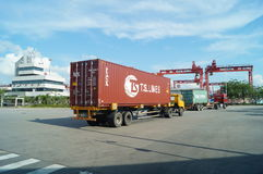 Shenzhen Shekou wharf SCT Royalty Free Stock Photography