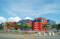 Shenzhen Shekou wharf SCT Royalty Free Stock Photos