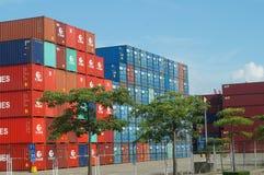 Shenzhen Shekou wharf SCT Royalty Free Stock Images