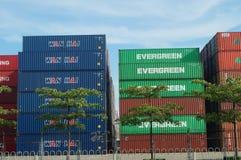 Shenzhen Shekou wharf SCT Stock Image