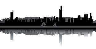 Shenzhen skyline vector illustration