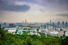 Shenzhen Skyline Stock Image
