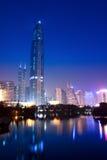 Shenzhen skyline at night Royalty Free Stock Photo