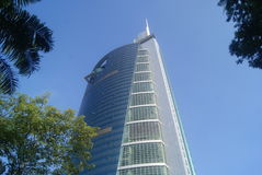 Shenzhen Special Zone Press Tower Stock Photography