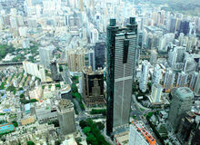 Shenzhen stad, Kina Arkivfoto