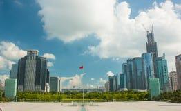 Shenzhen stad, Kina Fotografering för Bildbyråer