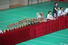 SHENZHEN Taekwondo Championship podium Stock Image
