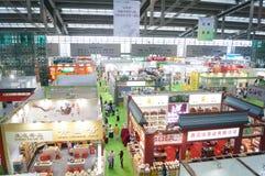 Shenzhen Tea Expo Stock Photo